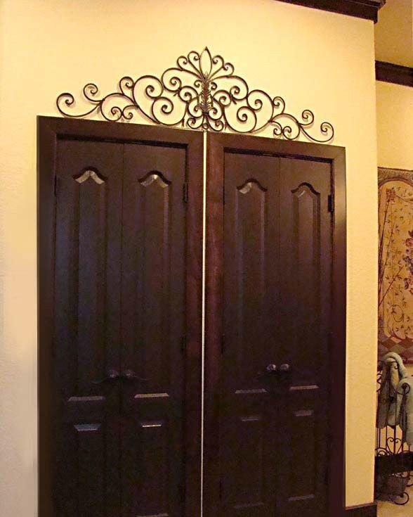 Over the Door Wall Decor New Iron Wall Art Above Door touch Of Tuscany