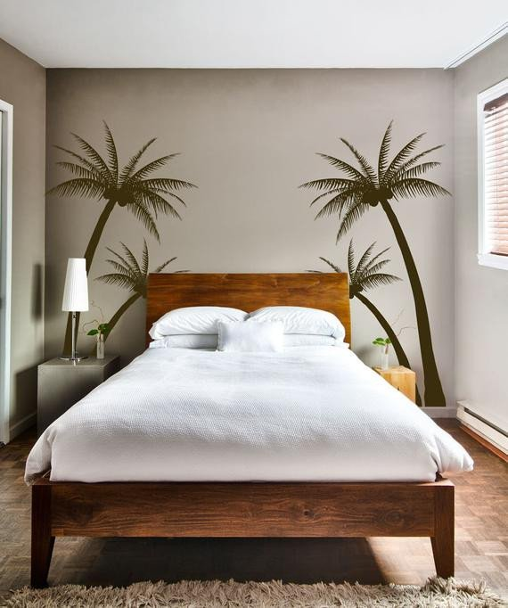 Palm Tree Decor for Bedroom Fresh Tropical Palm Tree for Living Room Bedroom or Nursery Wall