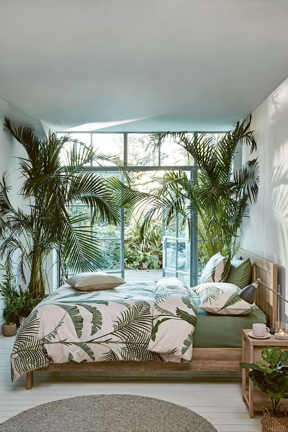 Palm Tree Decor for Bedroom New 53 Bright Tropical Bedroom Designs Digsdigs