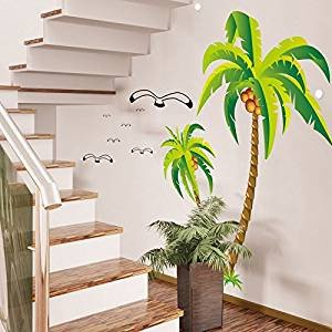 Palm Tree Decor for Bedroom Unique Amazon Coconut Palm Tree Home Bedroom Decor Removable Wall Sticker Decal Art Mural Home