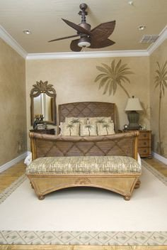 Palm Tree Decor for Bedroom Unique Palm Tree themed Bedrooms On Pinterest