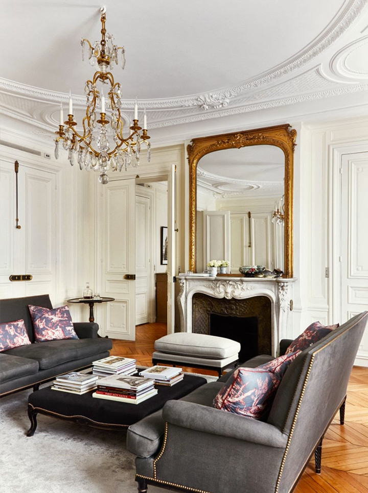 Paris themed Living Room Decor Awesome Another Gorgeous Apartment In Paris – 79 Ideas