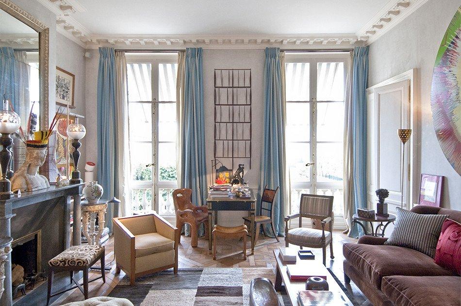 Paris themed Living Room Decor Elegant Jacques Grange Interior Design S French Connection