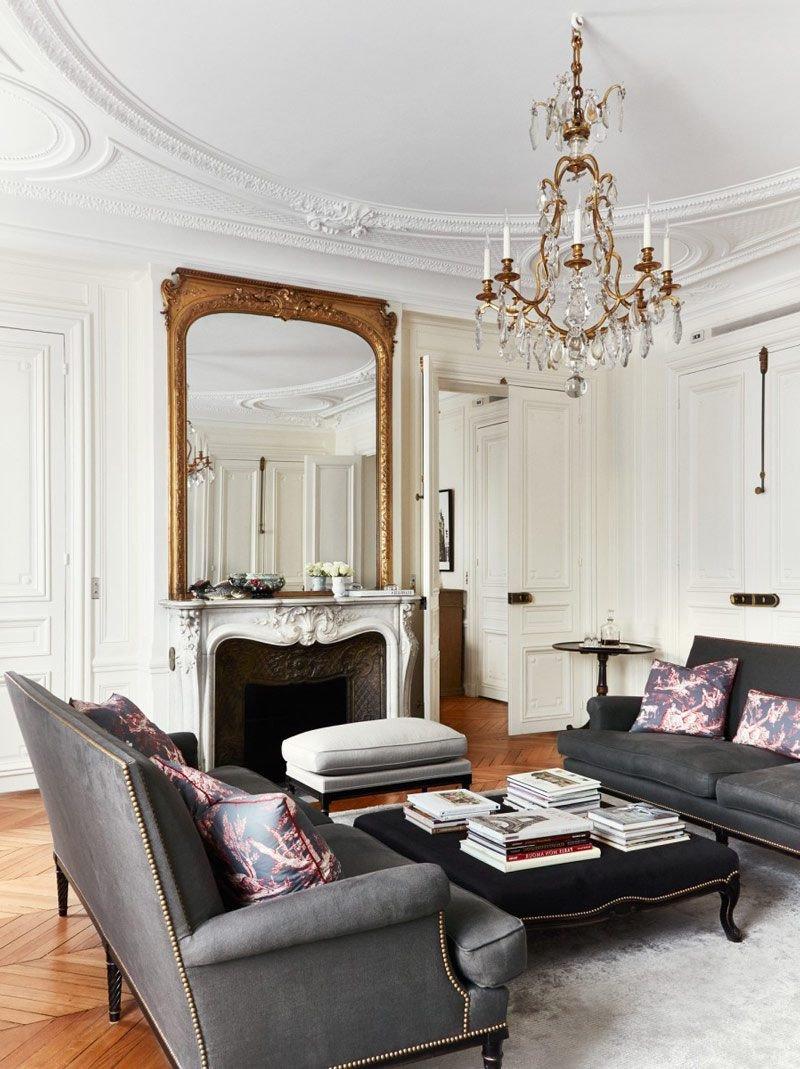 Paris themed Living Room Decor Elegant Paris themed Living Room Decor Ideas