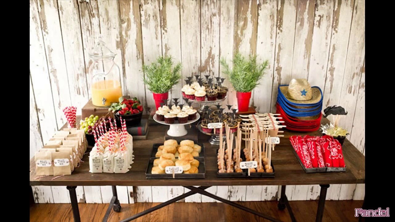 Party Decor Ideas for Adults Awesome Cowboy Party Ideas for Adults