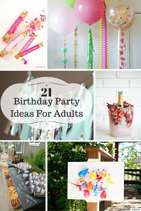 Party Decor Ideas for Adults Fresh 21 Ideas for Adult Birthday Parties