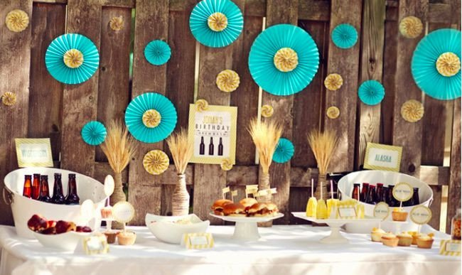 Party Decor Ideas for Adults Inspirational 25 Best Birthday Party Ideas for Adults – Tip Junkie