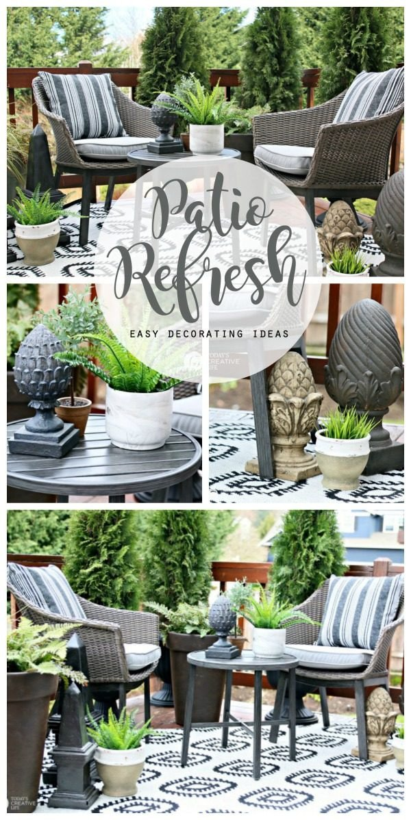 Patio Decor On A Budget Beautiful Easy Patio Decorating Ideas