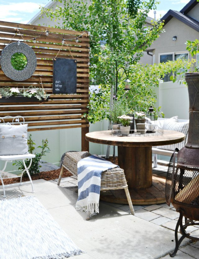 Patio Decor On A Budget Inspirational Small Patio A Bud
