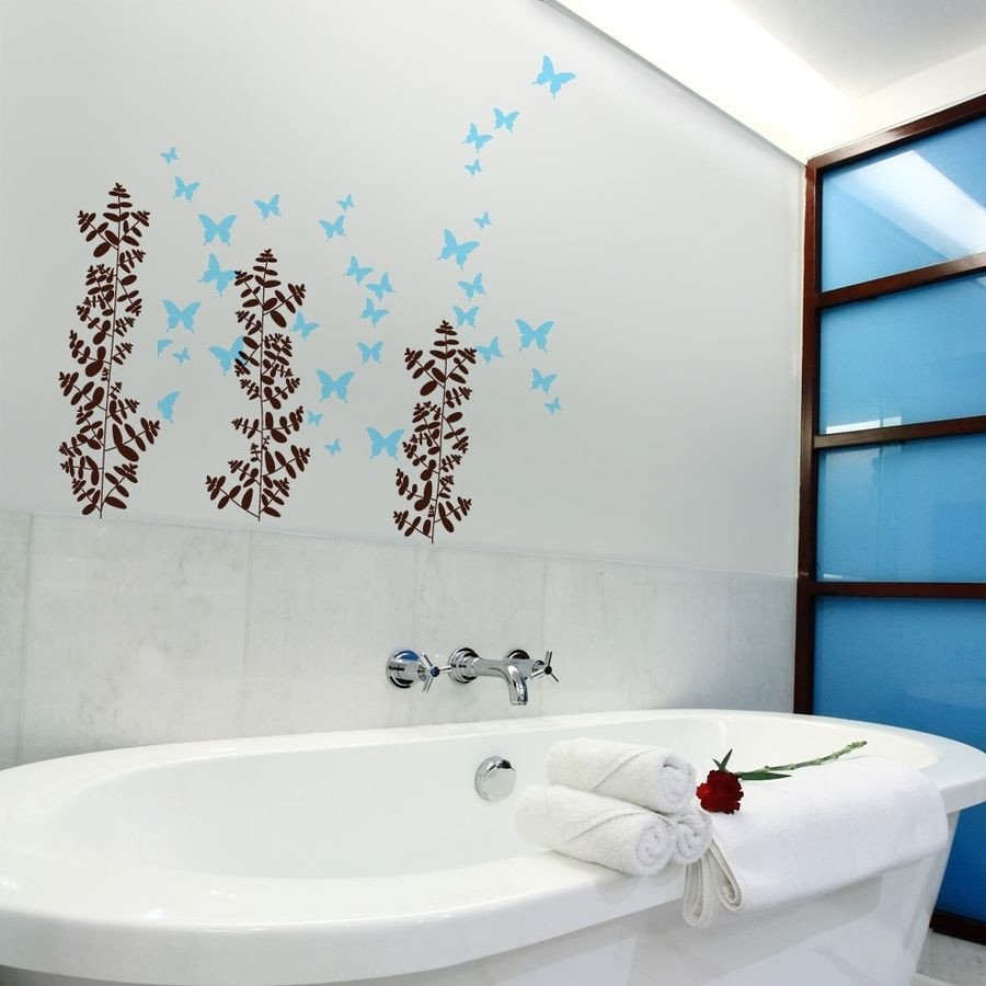 Pictures for Bathroom Wall Decor Fresh 17 Decorative Bathroom Wall Decals