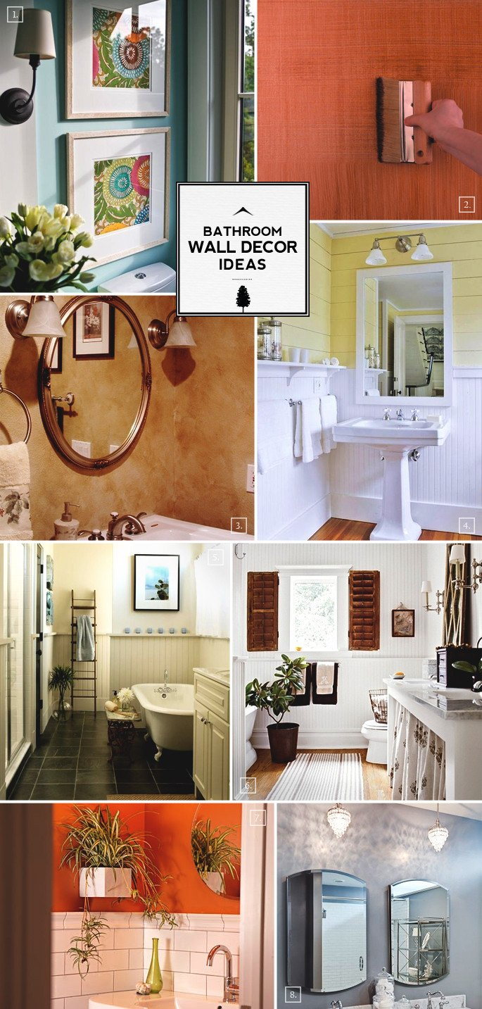 Pictures for Bathroom Wall Decor Fresh Style Guide Bathroom Wall Decor Ideas