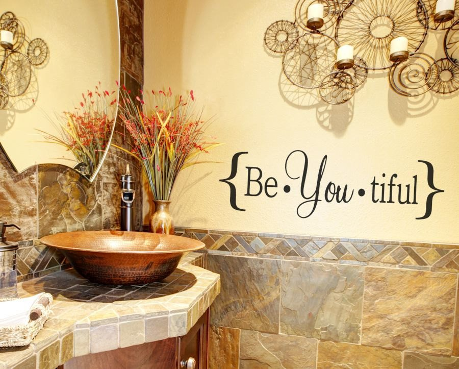Pictures for Bathroom Wall Decor Inspirational Bathroom Decor Bathroom Wall Decal Bathroom Vinyl Wall