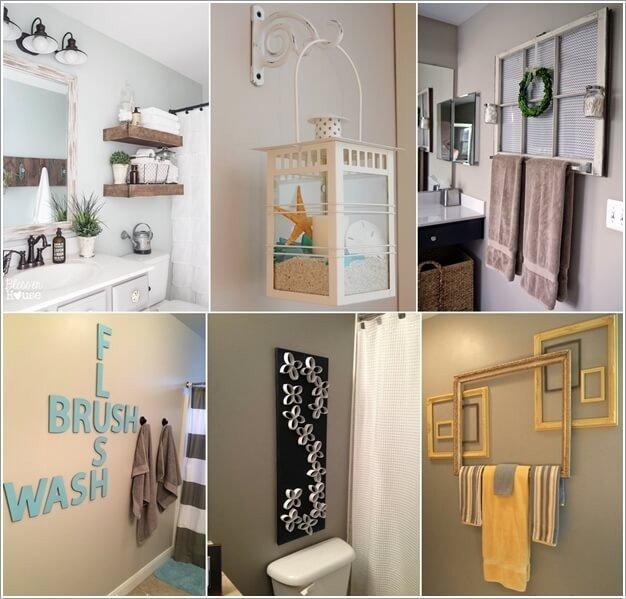 Pictures for Bathroom Wall Decor Lovely 10 Creative Diy Bathroom Wall Decor Ideas