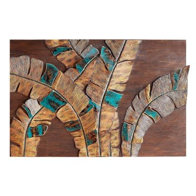 Pier 1 Imports Wall Decor New Mosaic Palm Leaves Wall Decor