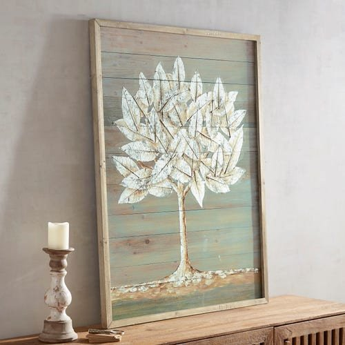 Pier One Imports Wall Decor Beautiful Foiled Tree Wall Decor