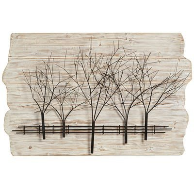 Pier One Imports Wall Decor Elegant Ivory Woodlands Wall Decor