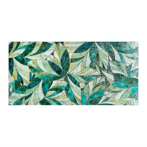 Mosaic Leaves Wall Decor