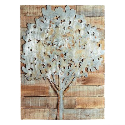 Pier One Imports Wall Decor Inspirational Rustic Tree Planked Wall Decor