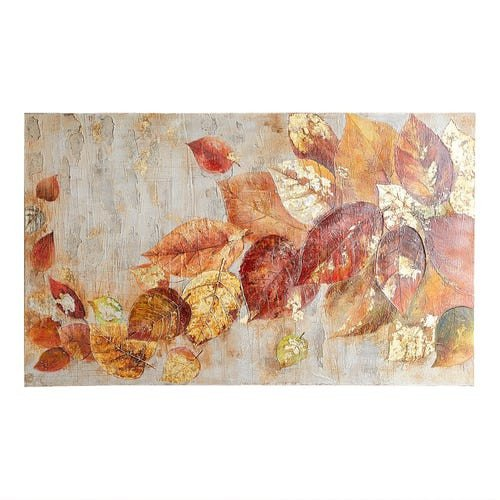 Pier One Imports Wall Decor Inspirational Tumbling Leaves Art