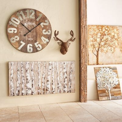 Pier One Imports Wall Decor Lovely Rustic Tree Planked Wall Decor