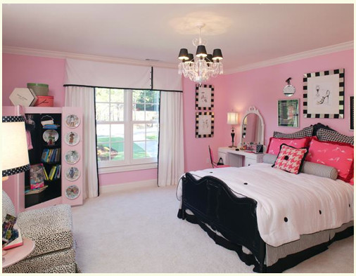 Pink and Black Bedroom Decor Best Of Pink & Black Girls Rooms Design Dazzle