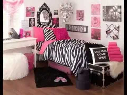 Pink and Black Bedroom Decor Lovely Pink Black and White Bedroom Decorating Ideas