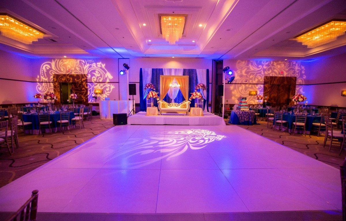 Pink and Blue Wedding Decor Awesome Royal Blue Teal & Hot Pink Decor – Indian Wedding Venues southern California northern