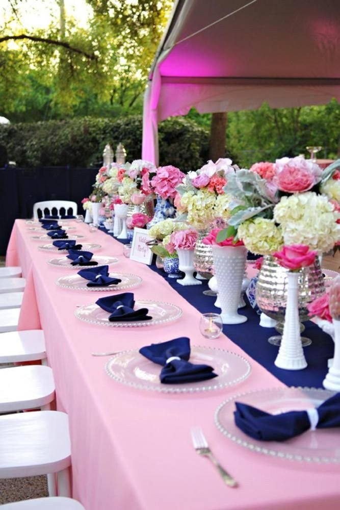 Pink and Blue Wedding Decor Best Of Navy and Pink Wedding Decor Weddingdecor Weddingideas Weddingdecorations