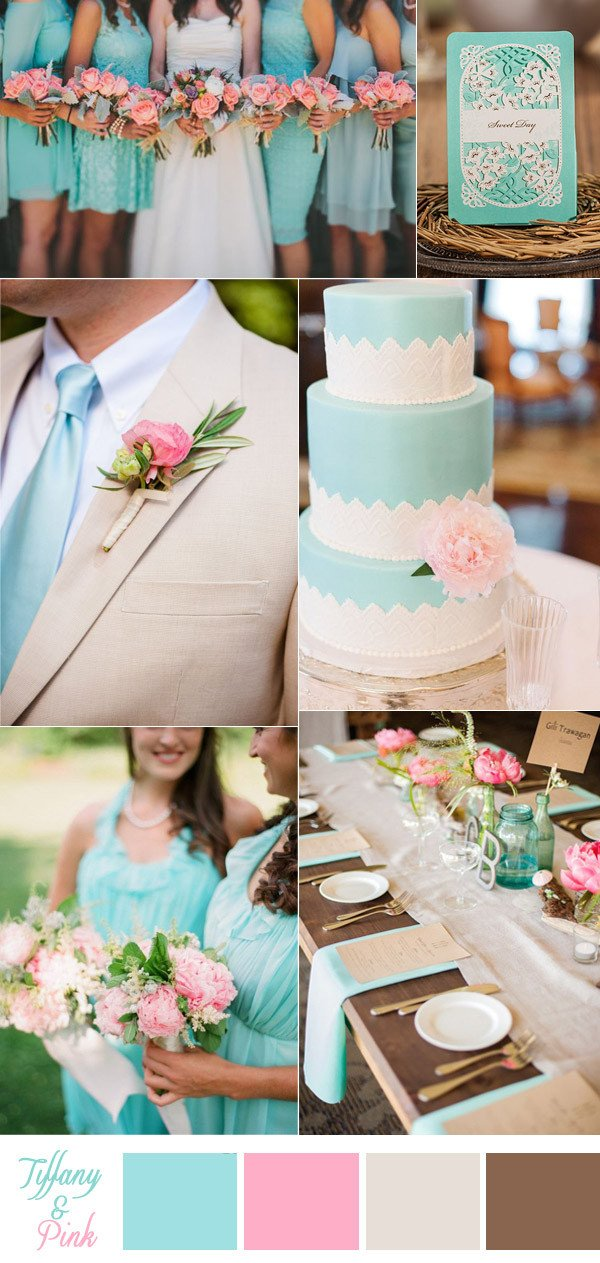 Pink and Blue Wedding Decor Elegant Awesome Ideas for Your Tiffany Blue themed Wedding – Elegantweddinginvites Blog