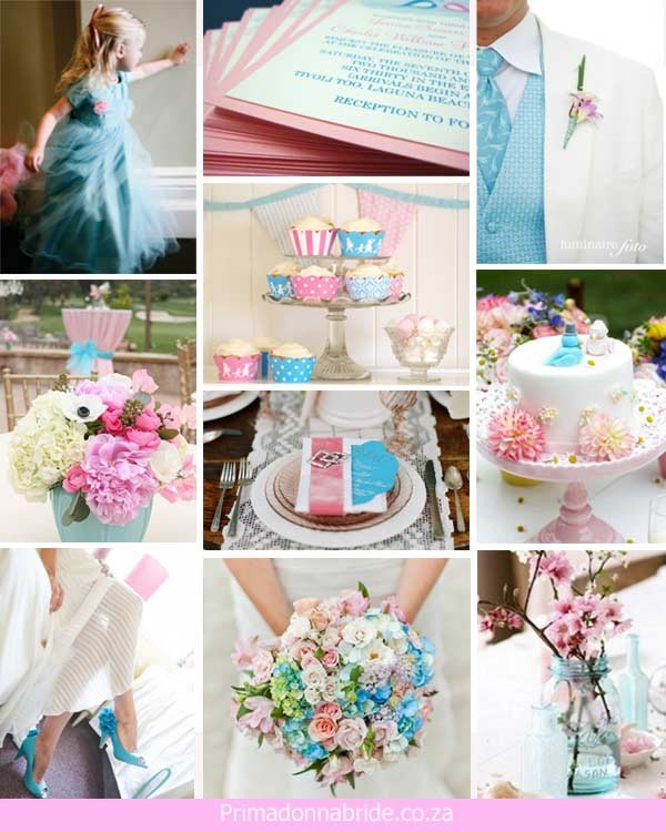 Pink and Blue Wedding Decor Elegant Wedding Ideas Light Pink and Light Blue