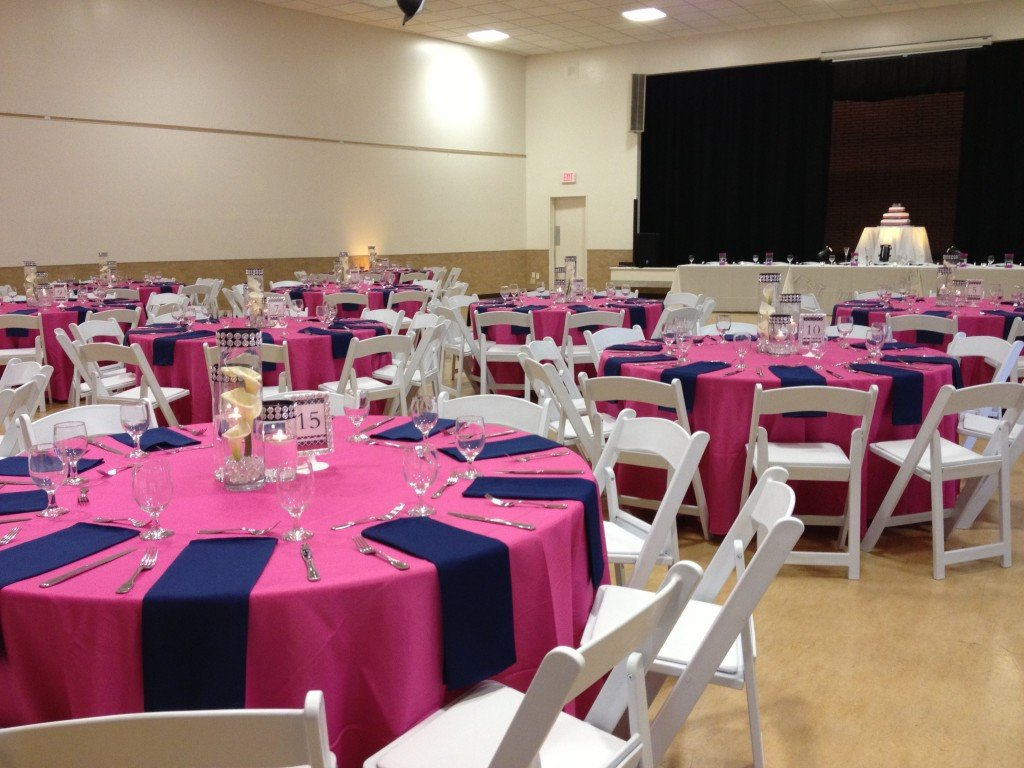 Pink and Blue Wedding Decor New Abbey Road Weddings Pink and Blue Wedding