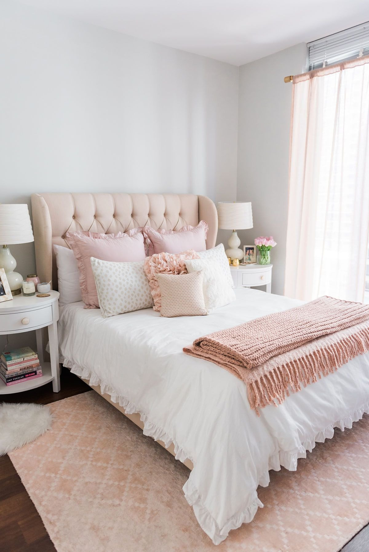 Pink and Gold Bedroom Decor Awesome My Chicago Bedroom Parisian Chic Blush Pink Living Room