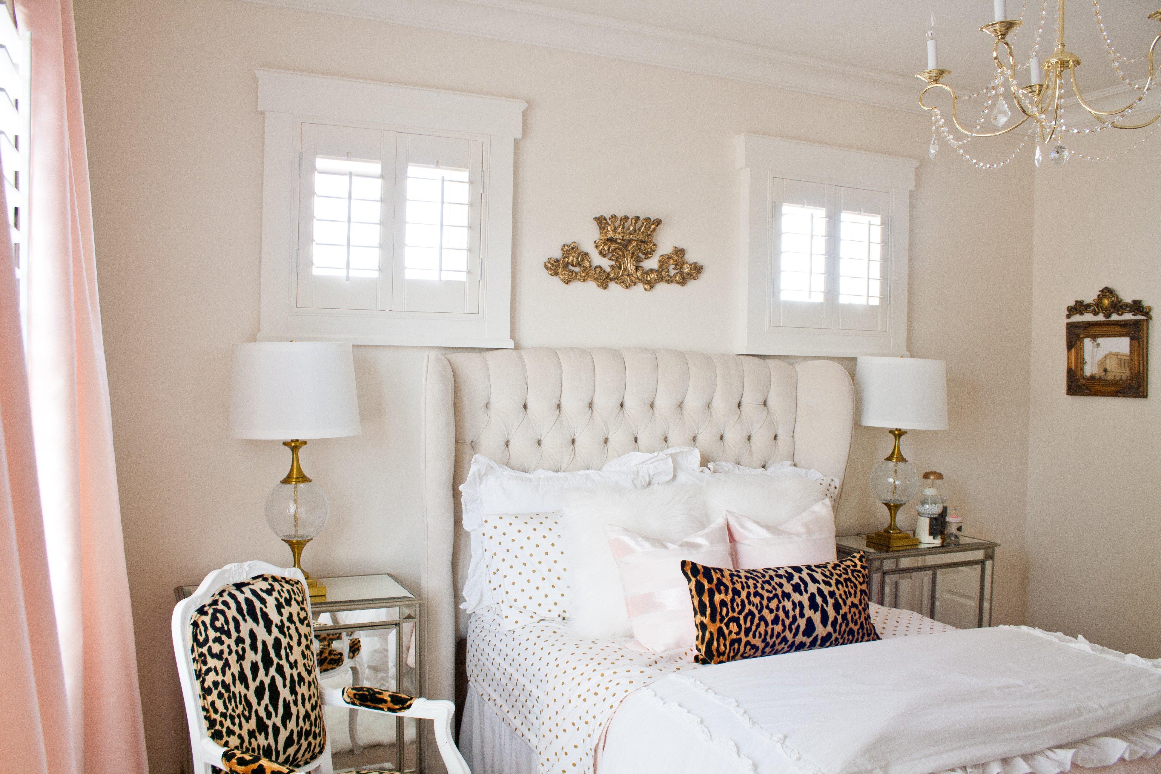 Pink and Gold Bedroom Decor Fresh Pink and Gold Girl S Bedroom Makeover Randi Garrett Design