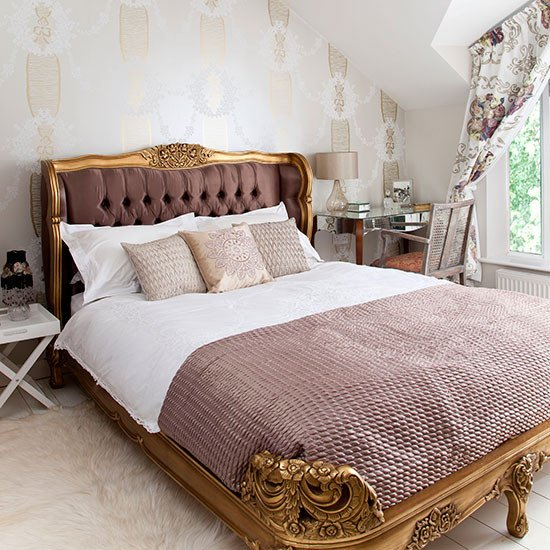 Pink and Gold Bedroom Decor Inspirational Gold and Pink French Style Bedroom Bedroom Decorating