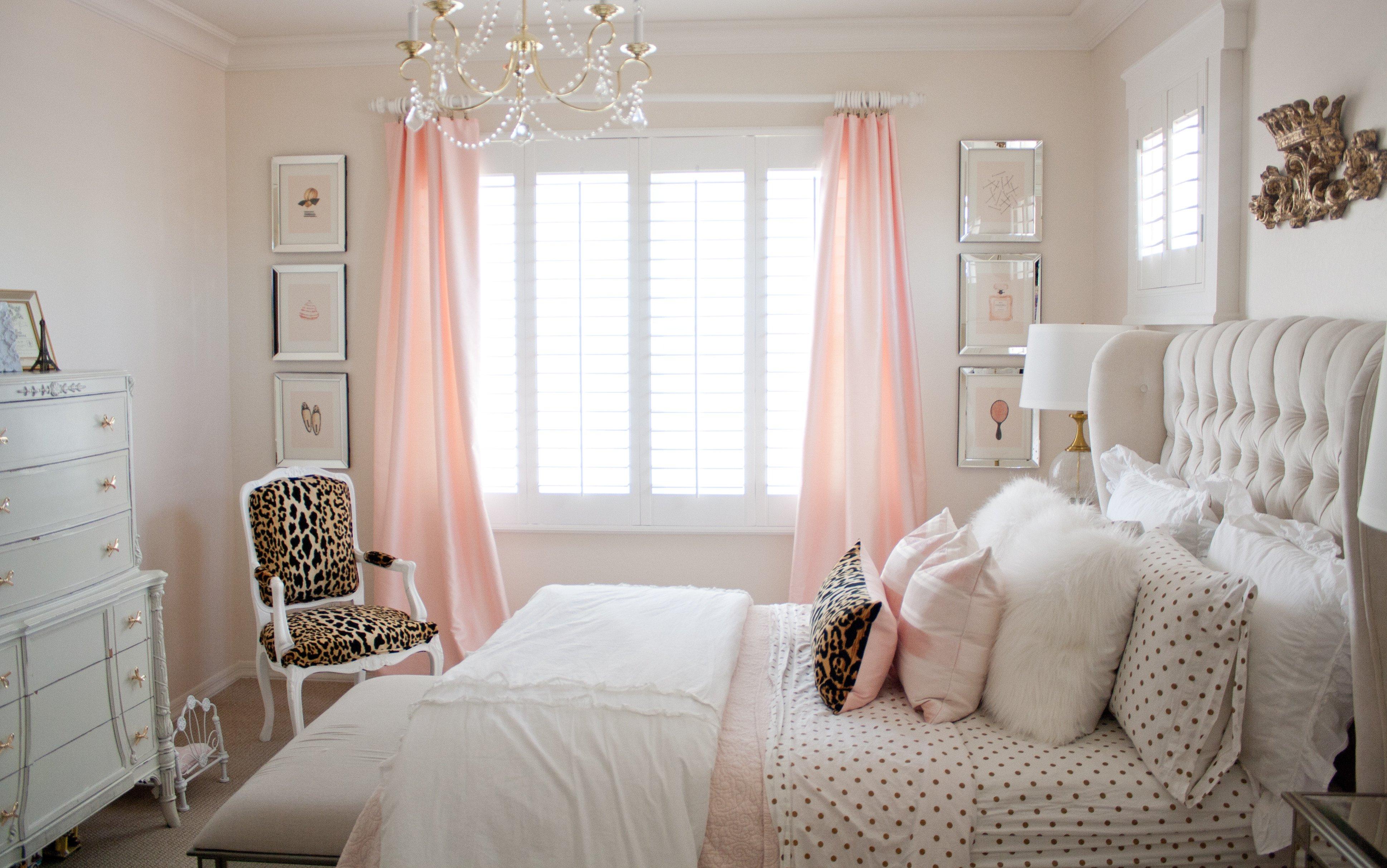 Pink and Gold Bedroom Decor Lovely Pink and Gold Girl S Bedroom Makeover Randi Garrett Design