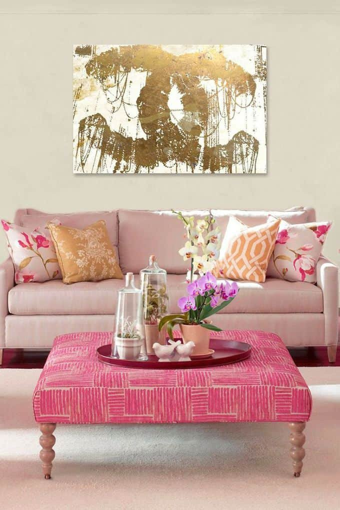 Pink and Gold Bedroom Decor Luxury Pink and Gold Rooms