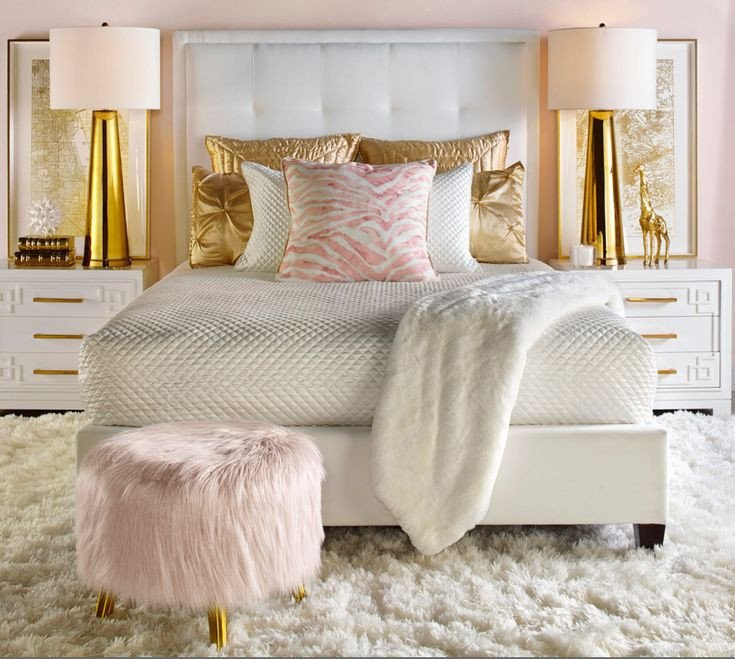 Pink and Gold Bedroom Decor Unique Best 25 Gold Bedroom Ideas On Pinterest