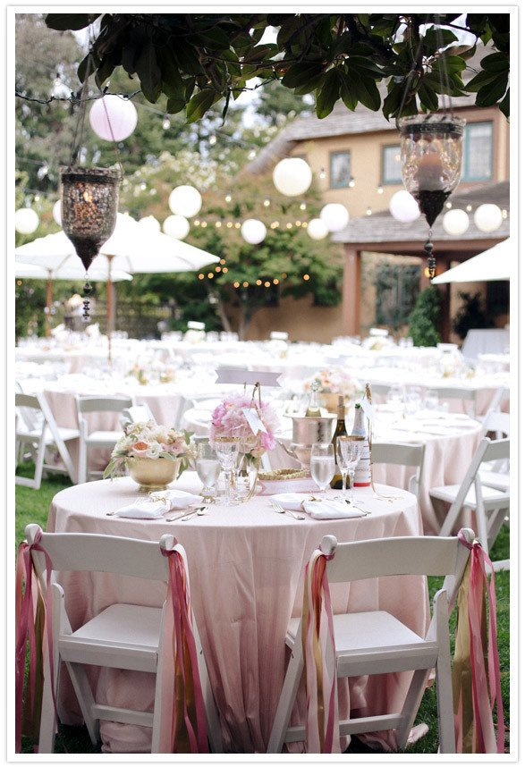 Pink and Gold Wedding Decor Elegant Pink and Gold California Wedding Taylor Joey Real Weddings