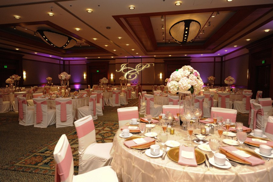 Pink and Gold Wedding Decor Inspirational Elegant Pink and Gold Florida Wedding