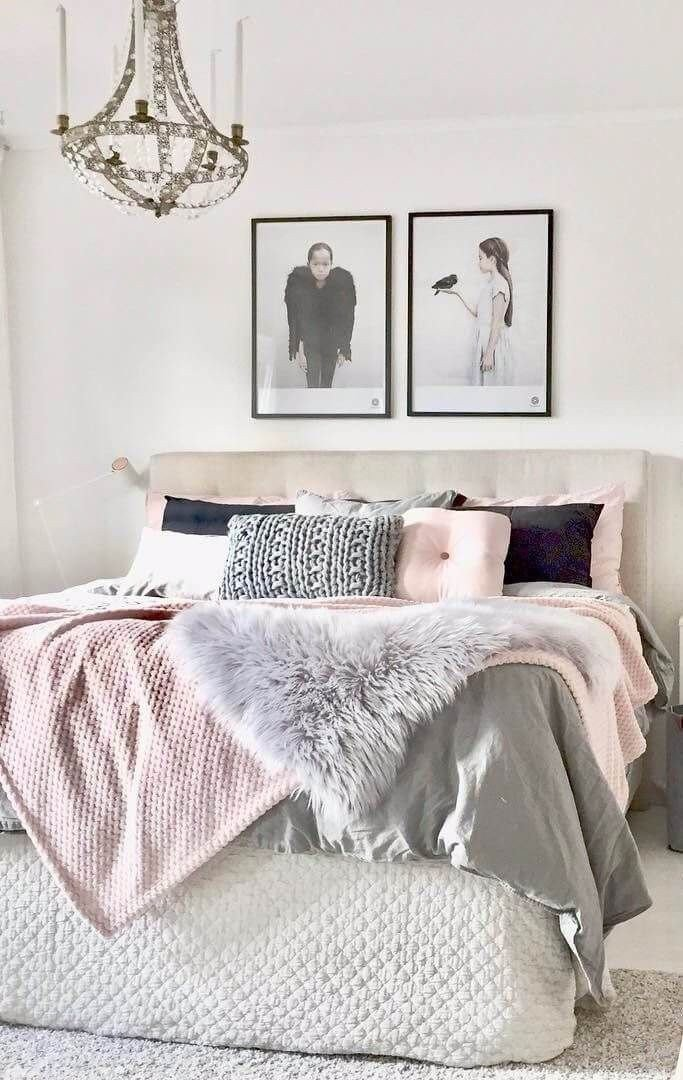 Pink and Gray Bedroom Decor Beautiful Get Your Bedroom Decor Summer Ready with Blush Pink and Grey Home Sweet Home