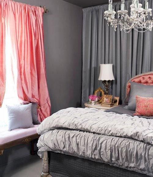 Pink and Gray Bedroom Decor Beautiful Pink & Grey Decor Feng Shui Interior Design Color Power