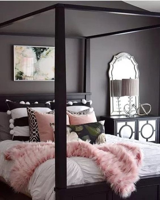 Pink and Gray Bedroom Decor Best Of Best 25 Pink Grey Bedrooms Ideas On Pinterest