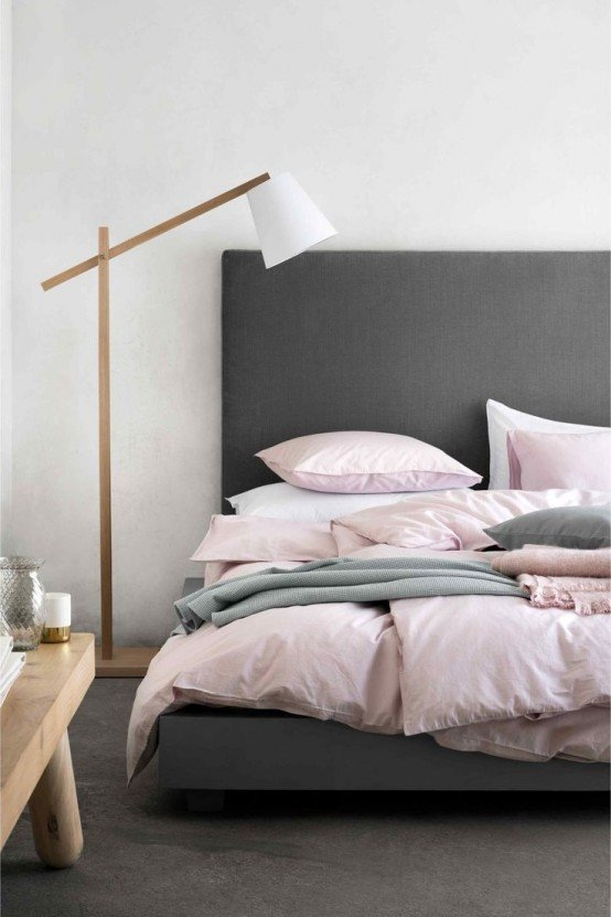Pink and Gray Bedroom Decor Elegant Metallic Grey and Pink 27 Trendy Home Decor Ideas Digsdigs