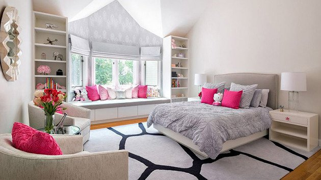 Pink and Gray Bedroom Decor Unique 20 Elegant and Tranquil Pink and Gray Bedroom Designs