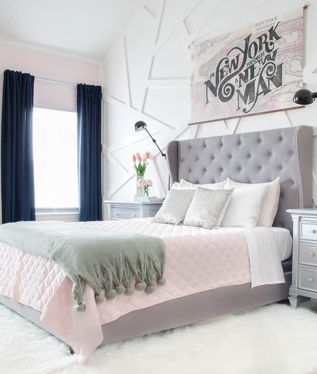 Pink and Gray Bedroom Decor Unique How to Decorate A Room Beautifully with Blush Pink Shabbyfufu