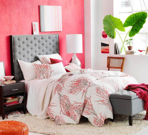 Pink and Gray Bedroom Decor Unique Two Design Trends Citrus Crush & Blue Lagoon Bright Bazaar by Will Taylor