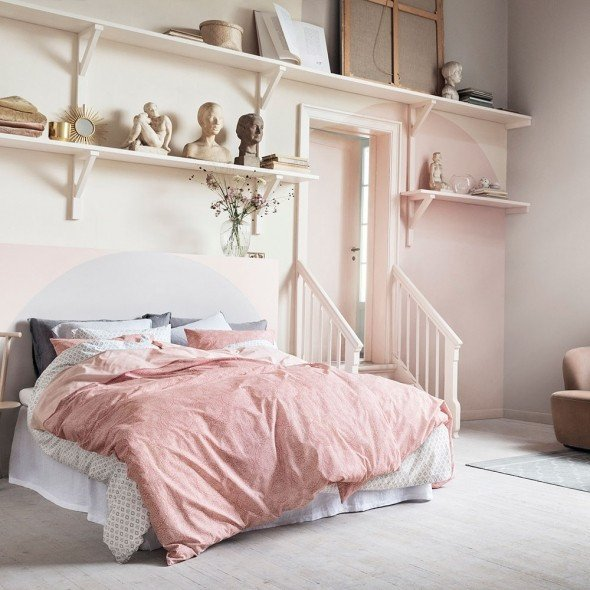 Pink and Gray Room Decor Awesome 12 Pink and Grey Bedroom Ideas Pink and Grey Bedroom Colour Decor Good Housekeeping
