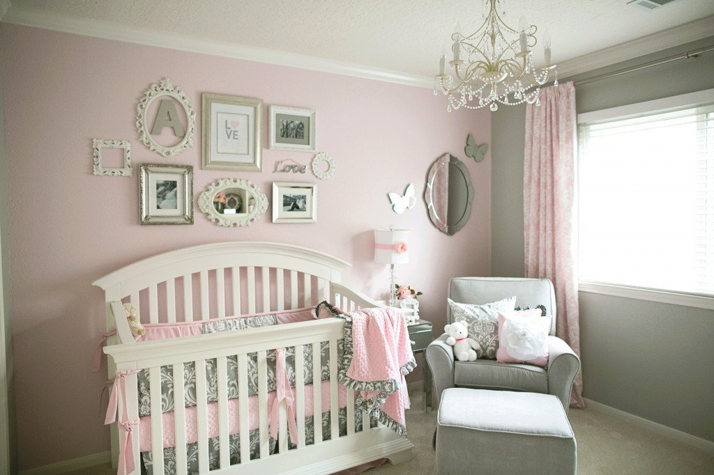 Pink and Gray Room Decor Elegant soft and Elegant Gray and Pink Nursery Project Nursery
