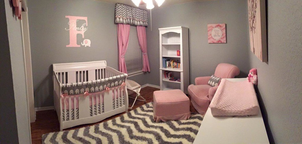 Pink and Gray Room Decor Lovely Pink and Grey Elephant Nursery Project Nursery