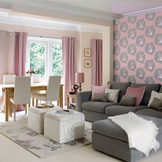 Pink and Gray Room Decor Luxury 69 Fabulous Gray Living Room Designs to Inspire You Decoholic